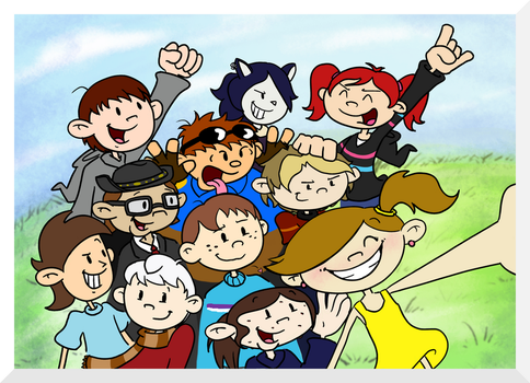 Selfie With Numbuh 96! by man5ray