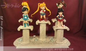 SD Sailor Scouts by LeonasWorkshop