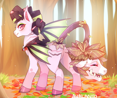 [Commission] Cinnamon Leaves. by Avalanto