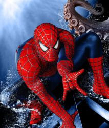 Spiderman 4 Cover Art by childlogiclabs
