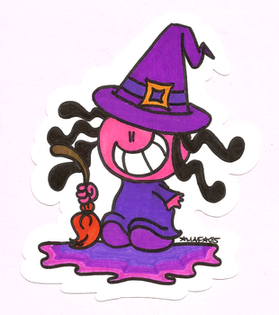 Little Witch by MAFcartoons