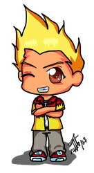 Chibi MARTIN MYSTERY :3 by Chareon