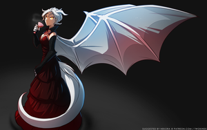 Draconic Elegance by Twokinds