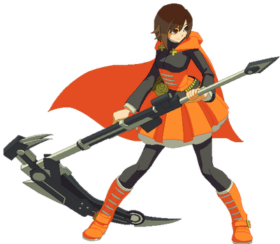 Ruby Rose Sprite Animation (May) by SegGel2009