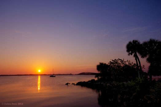 Sunrise on Indialantic by PeaTree-Creations