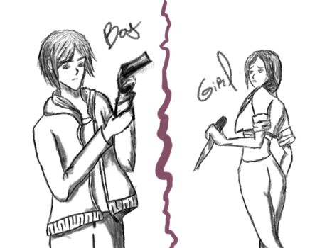 Boy or girl Option by Guiguimu