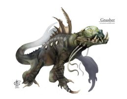 The Gnasher by Vincent-Covielloart