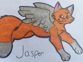 Dis my baby Jasper :3 by FoxAutumn
