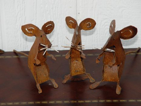Mice by GreatLakesMetalWorks