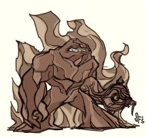 Clayface Sketch by Tigerhawk01