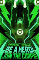 Green Lantern Corps recruit by Azraeuz