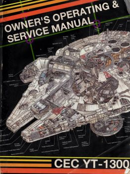 Millennium Falcon Owner's Manual Cover 2 by MayLyn15