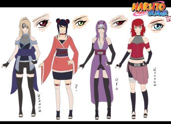 Naruto Oc Adoptables Closed (+CM for DanielleNara) by unicornchen