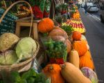 Paris the city of lights - vegetables and fruits by Rikitza