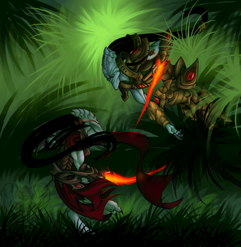 -Friendly Duel- by Traconian