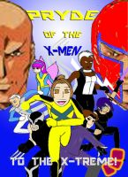 Pryde of the X-Men by Shellquake