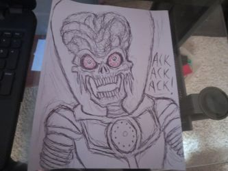 Mars Attacks by FloppsyProduction