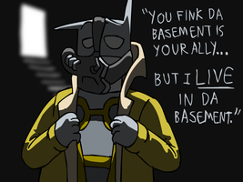 Baman Rises: I'm the Other Bane by fwabio