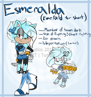 Esmeralda: Next gen fan kid (UPDATED REFF LINK v) by EmiStudios