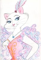 Glamour Puss by greydeer2010