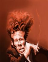 Tom Waits by DoodleArtStudios