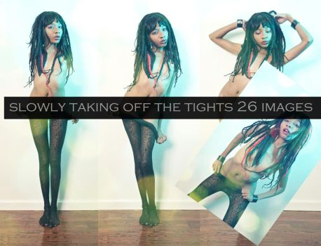 Slowly Taking off the tights by Ms-T-e-a