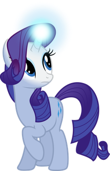 Rarity In the Dark by BaumkuchenPony