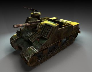 M7 Priest by weebasaurus