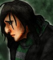 Young Severus Snape by LadyYonder