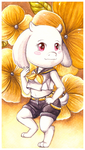Toriel Kagamine by Following-The-Rabbit