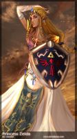 Princess Zelda by AstuteObservations