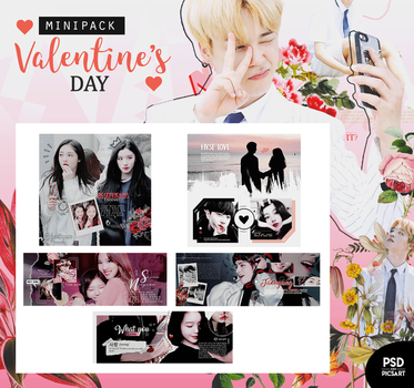 Special templates  +Valentine's day {MINIPACK} by Bubblegomi