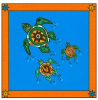Tribal Series #5_Turtles by pham158
