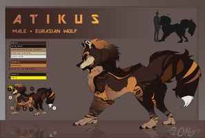 [SOLD] OLD DESIGN FOR ATIKUS - $10 USD by iFloofy