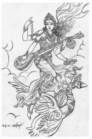 Saraswathi by thandav