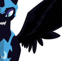 Nightmare Moon High Res. Render by mkovic