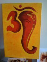 Om Ganesh by rkuk