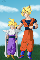 father and son by SsRBsS