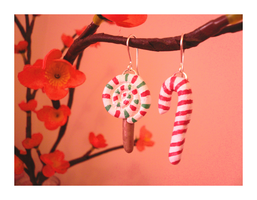 Candy Earrings by Kezzi-Rose