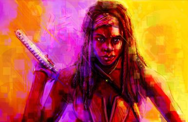 Michonne Ronin by Sempaiko