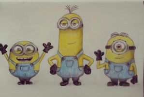 Minions by Chiruyto