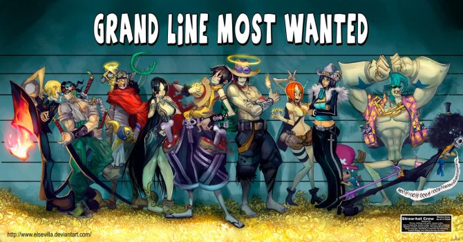 The Grand Line most wanted by elsevilla