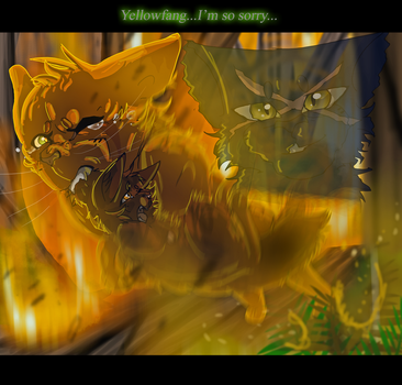 Fireheart's Sacrifice (Warrior Cats) by WarriorCat3042