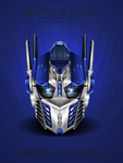 Optimus Prime Helmet Icon by Svengraph