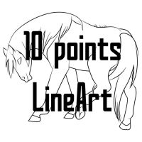 Horse line by Scotis