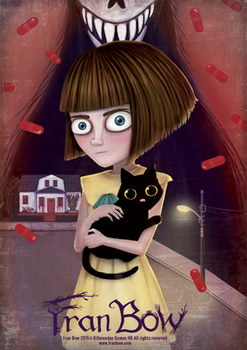 Fran Bow Poster by UraniaOrwell