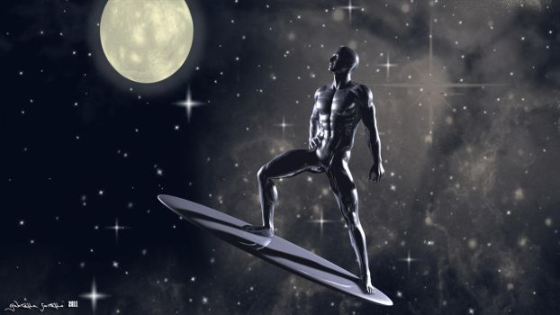 Silver Surfer by galidor