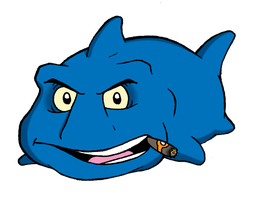 Frank The Angry Fish by JMKohrs