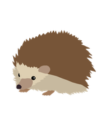 Hibernia Hedgehog by BrouhahaBazaar