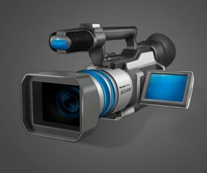 Camcorder Icon by Bnvt